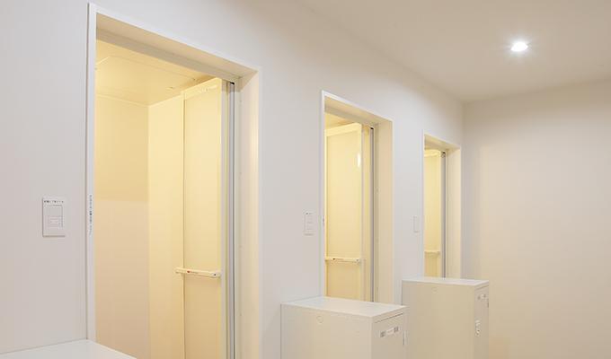 RETIO BODY DESIGN(レシオ・ボディ・デザイン)岡山市北区問屋町の24時間営業フィットネスジム女性用シャワールーム