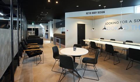 中区 東区のジム レシオ東岡山店 RETIO BODY DESIGN(レシオ・ボディ・デザイン)施設のご案内